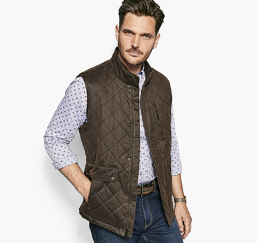 Antiqued-Cotton Vest
