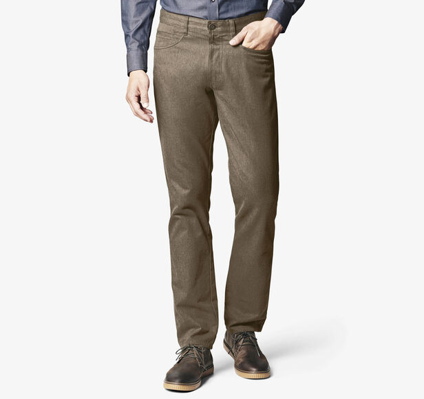 Slim Fit Brushed Heather Pants