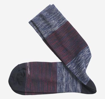 Heather Colorblock Socks