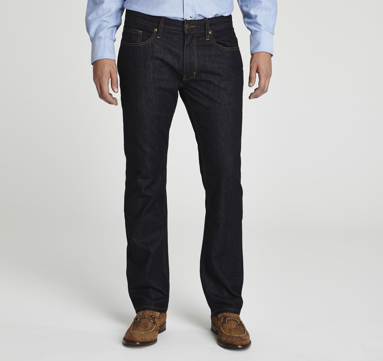 6a58127165 Slim Fit Denim Jeans | Johnston & Murphy