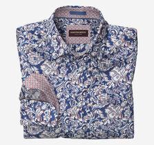 Floral Scroll Print Shirt