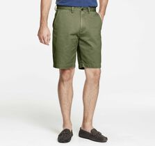 Garment-Washed Shorts