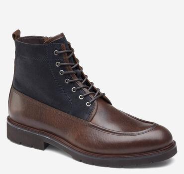 Sanders Moc Toe Zip Boot