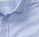 Italian Offset Check Dress Shirt