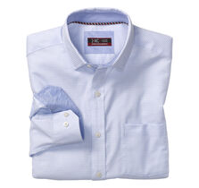 XC4® Mini Woven Check Point-Collar Shirt