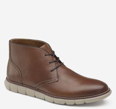 202817 SPBT50 Men/'s Shoes Size 9 M Black Leather Boots Johnston /& Murphy
