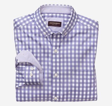 Button-Collar Premium Cotton Shirt
