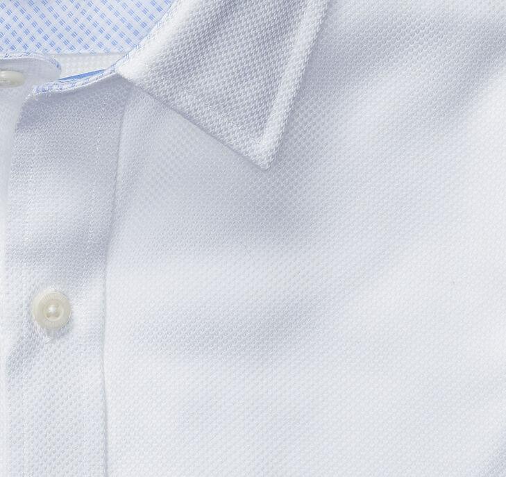 XC4® Solid Birdseye Point-Collar Shirt