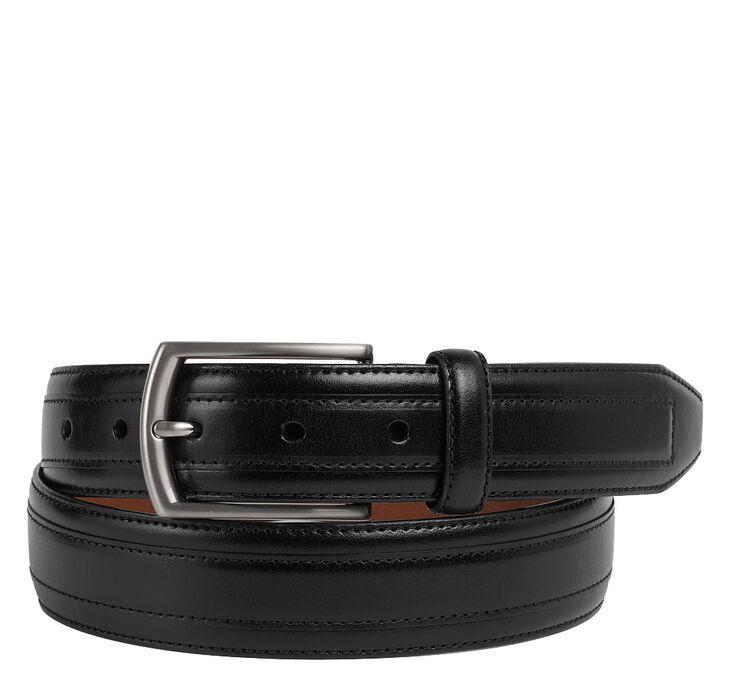 Leather Overlay Belt