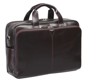 Double-Zip Briefcase