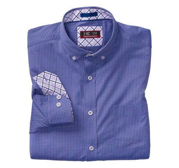 XC4® Micro Check Button-Collar Shirt