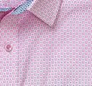 Medallion Dot Print Shirt