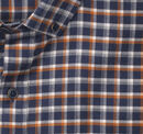 Brushed Heather Shadow Check Shirt