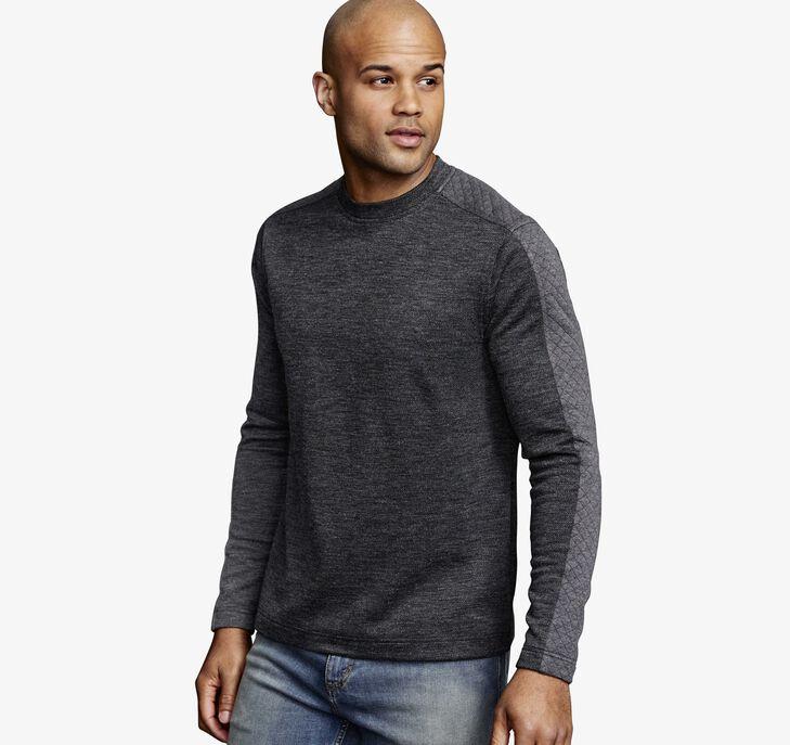 Quilted Crew Sweatshirt
