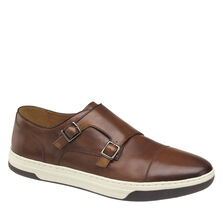 Fenton Double-Buckle Monk Strap