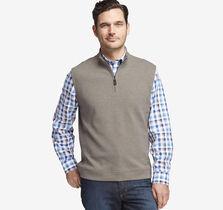 Quarter-Zip Knit Vest