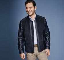 Italian Leather & Suede Jacket