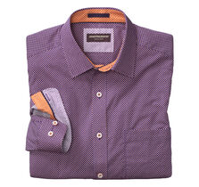 Dotted Diamond Print Shirt