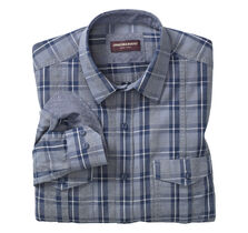 Melange Double-Pocket Shirt