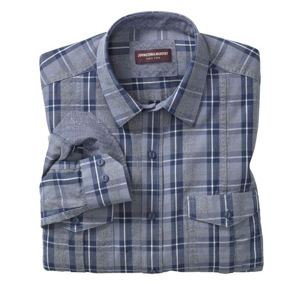 Melange Double-Pocket Shirt