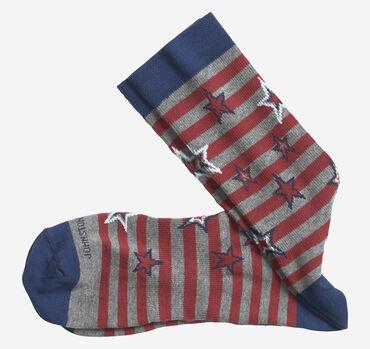 Ribbed Stars & Stripes Socks