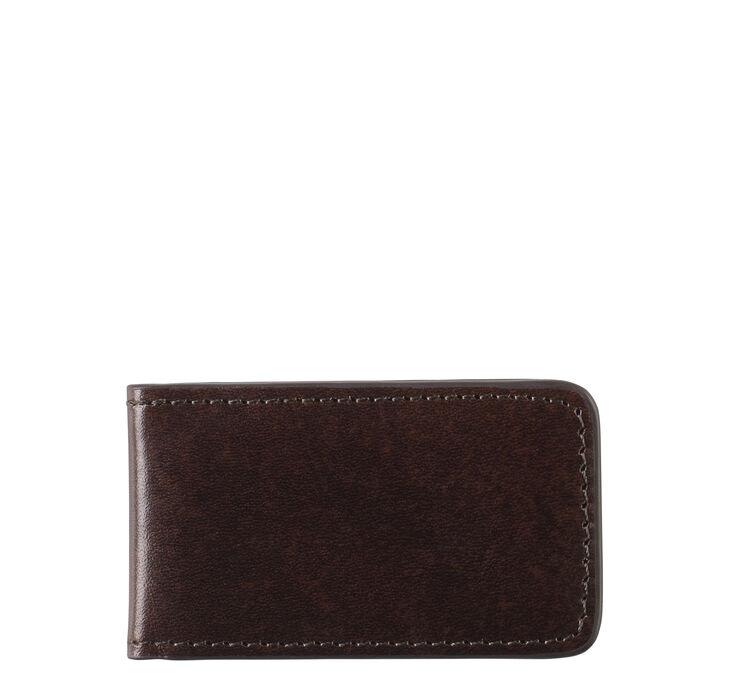 Italian Leather Magnetic Money Clip