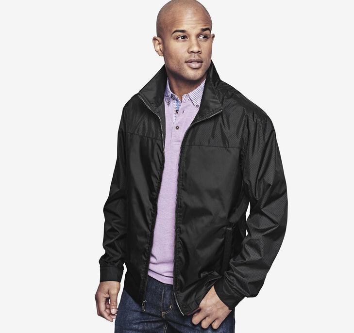 Perforated Nylon Jacket