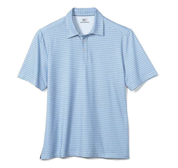 XC4® Golf Club Print Polo