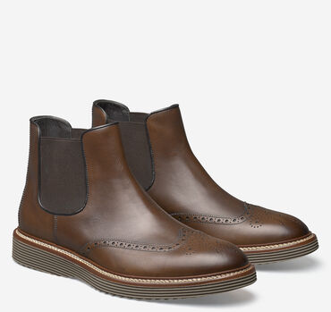 Casteel Chelsea Wingtip Boot