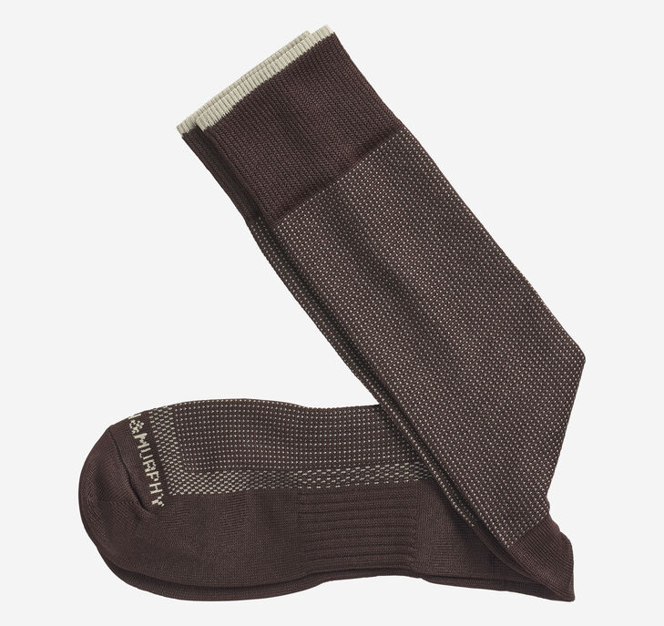 First In Comfort Classic Pin Dot Socks