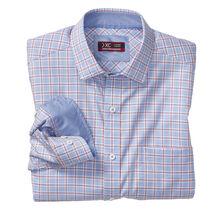 XC4® Bold Windowpane Point-Collar Shirt