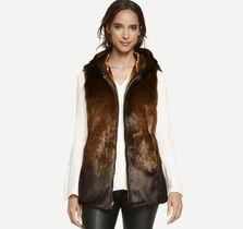 Faux-Fur Hooded Vest