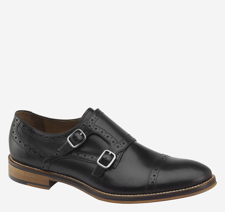 Conard Double Buckle Monk Strap