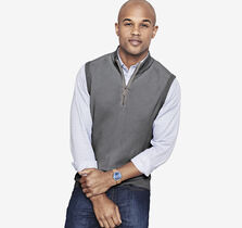Quarter-Zip Sweater Vest