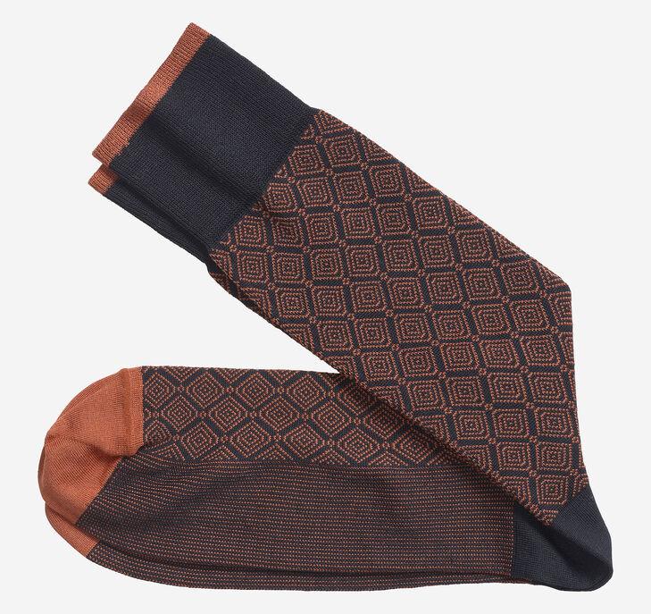 Stacked Diamonds Socks