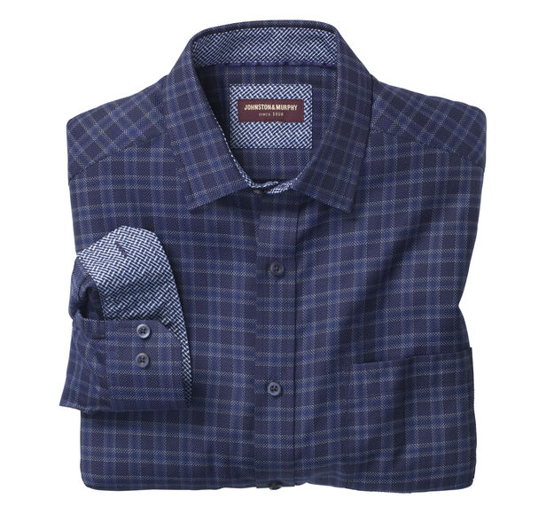 Dark Dash Windowpane Shirt