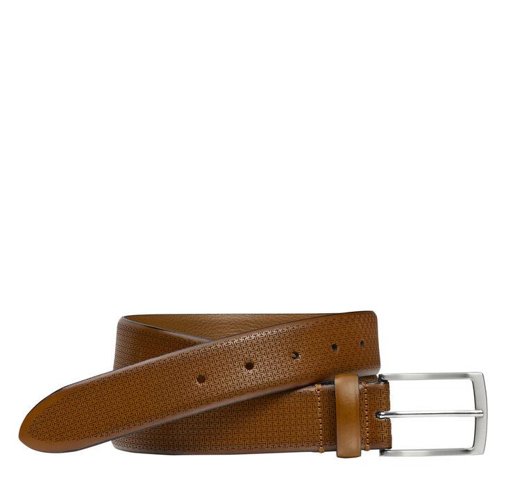 Bar Embossed Belt