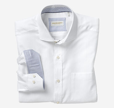 Italian Tonal Dotted Neat Dress Shirt