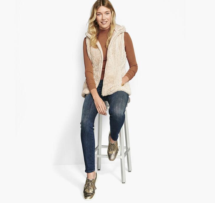 Reversible Faux-Fur Vest