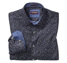 Indigo Floral Print Shirt