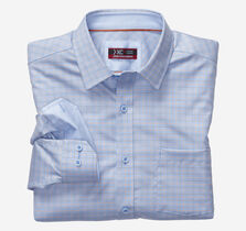 XC4® Mini Houndstooth Check Point-Collar Shirt