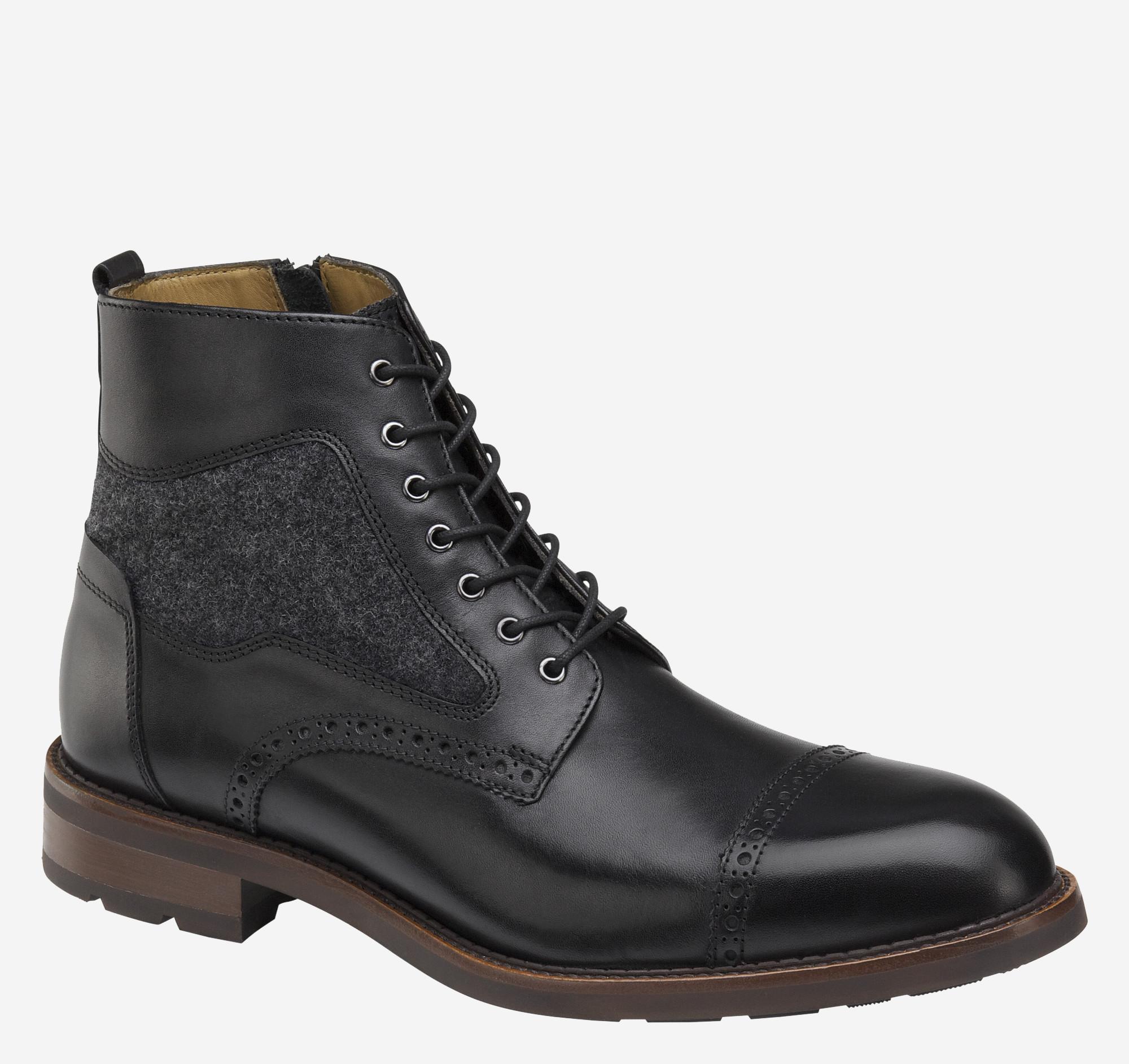 Johnston & Murphy Fullerton Cap-Toe Boot