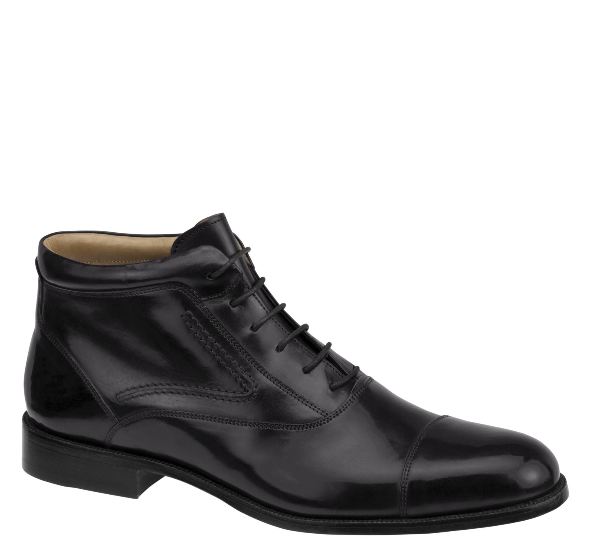 Johnston & Murphy Stratton Cap Toe Boots