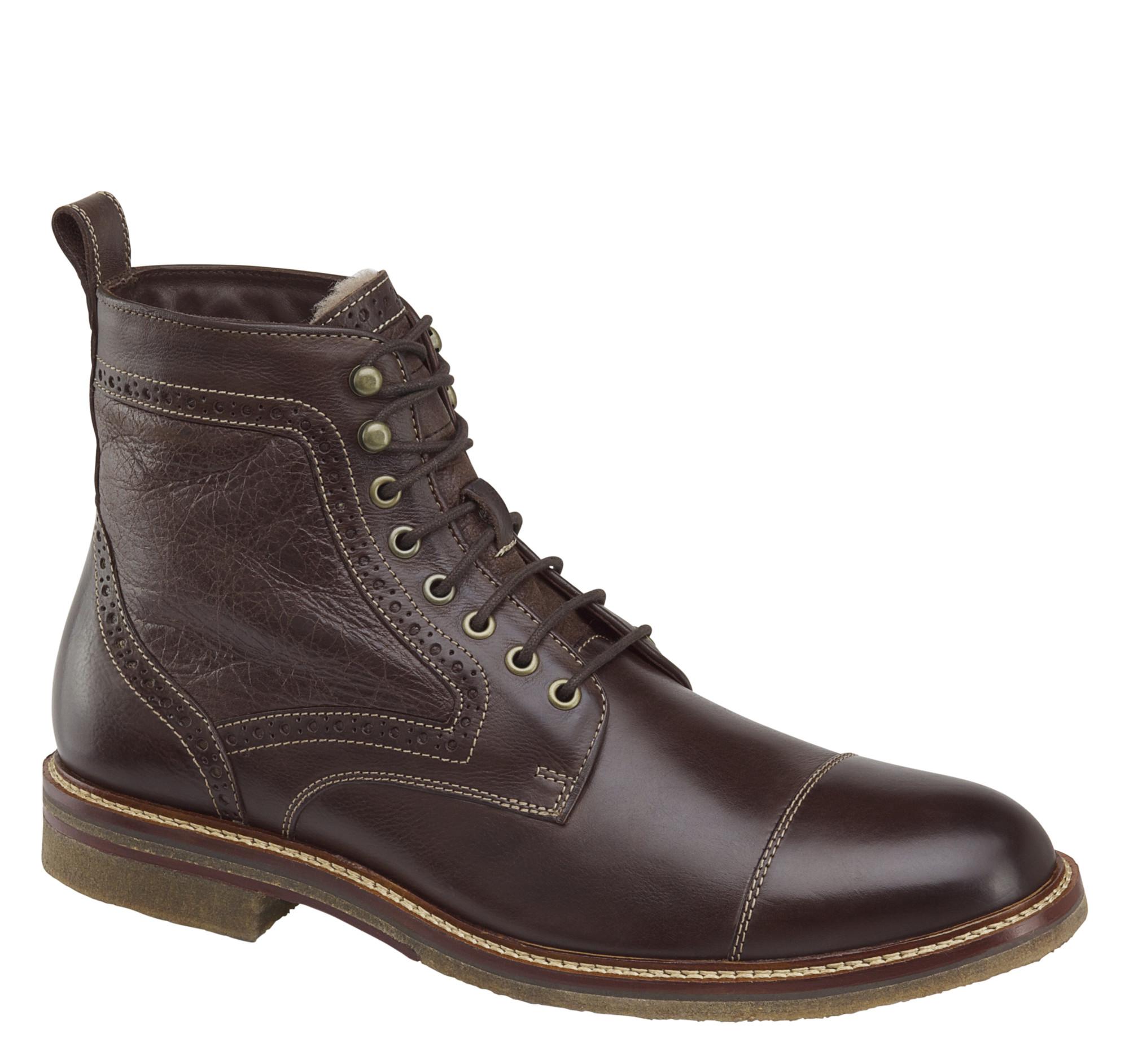 Johnston & Murphy Forrester Shearling Boot