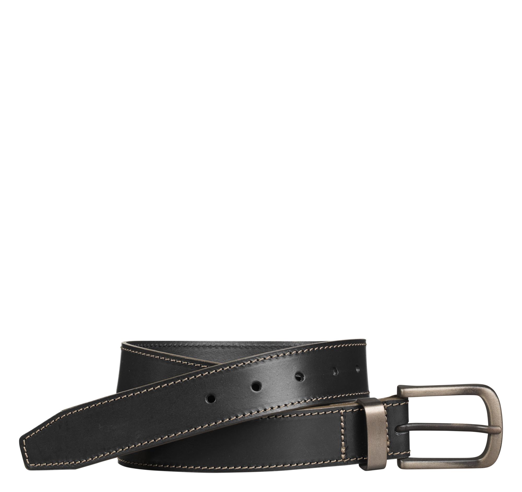 Johnston & Murphy Blackened-Buckle Belt