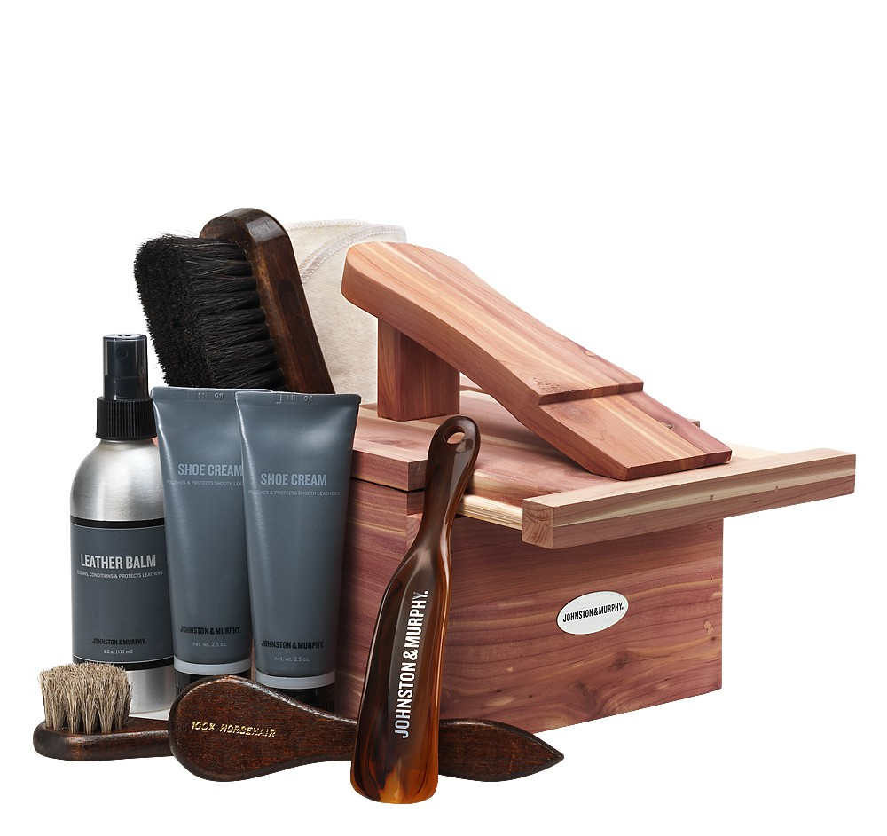 Johnston And Murphy Shoe Care Kit Review
