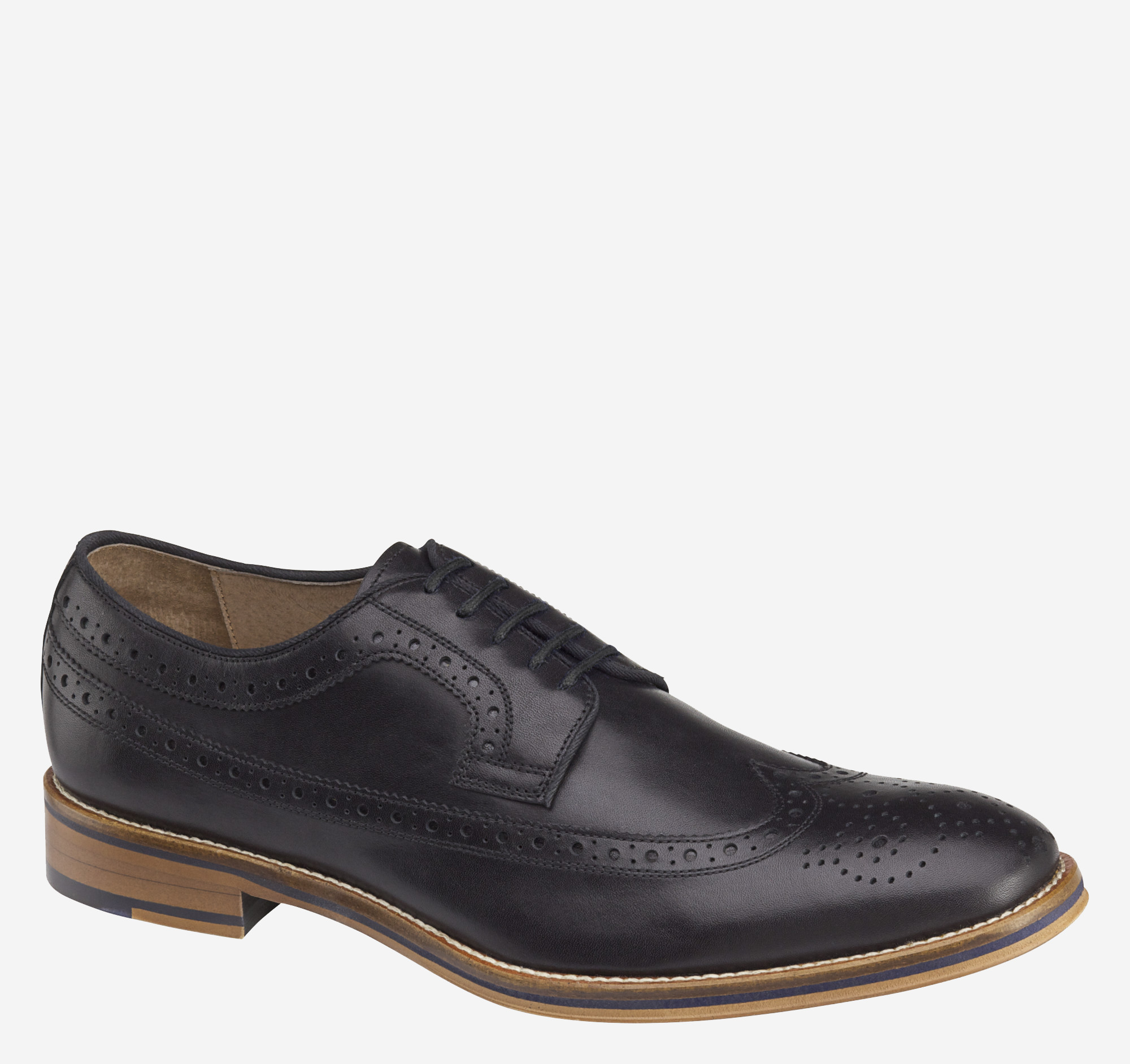 Black And Tan Wingtip Shoes