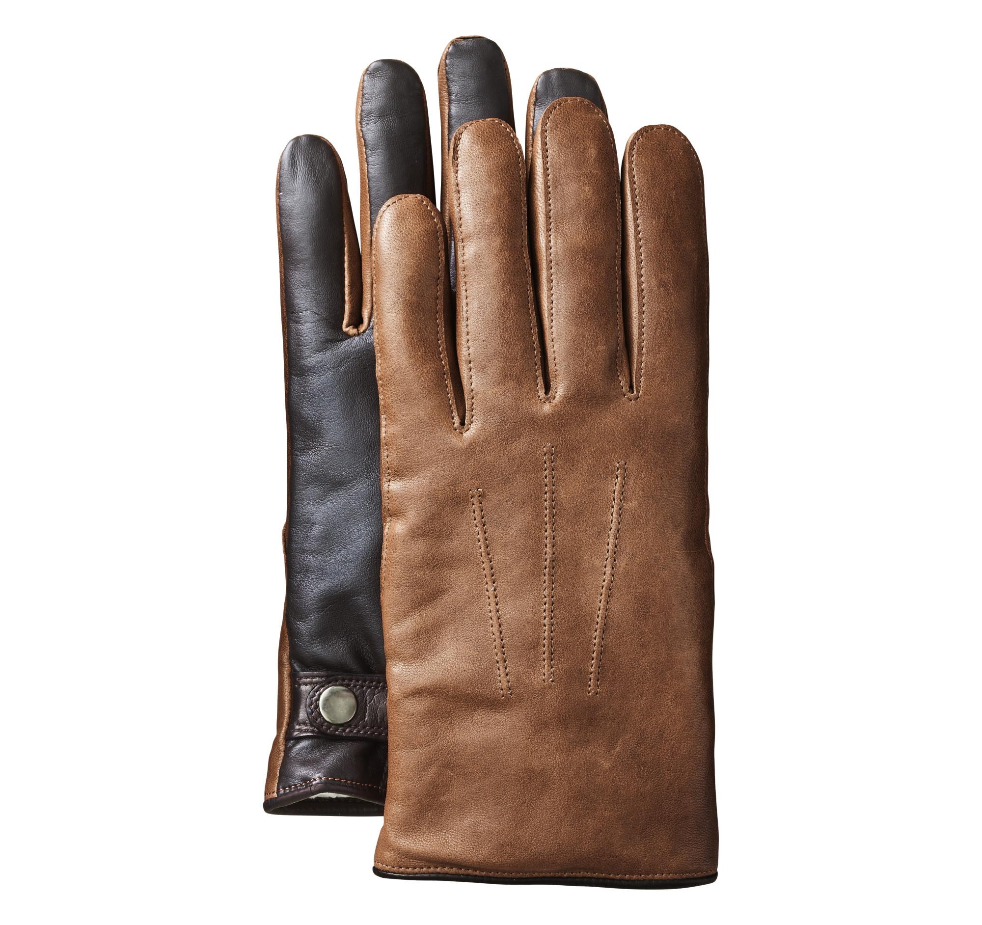 Vintage Leather Smart Gloves