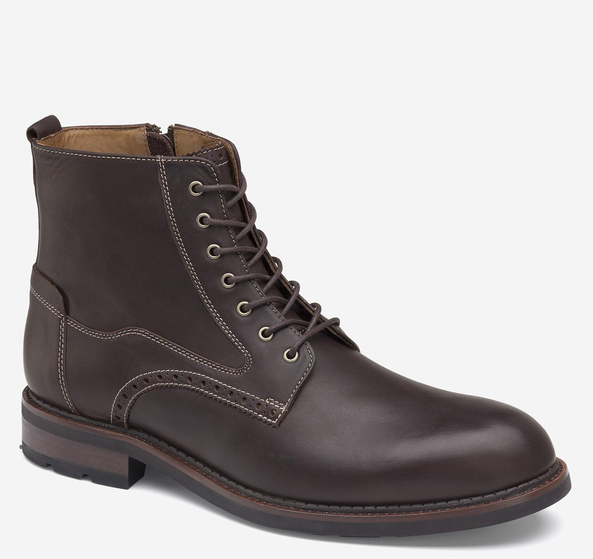 Johnston & Murphy Fullerton Plain Toe Boot