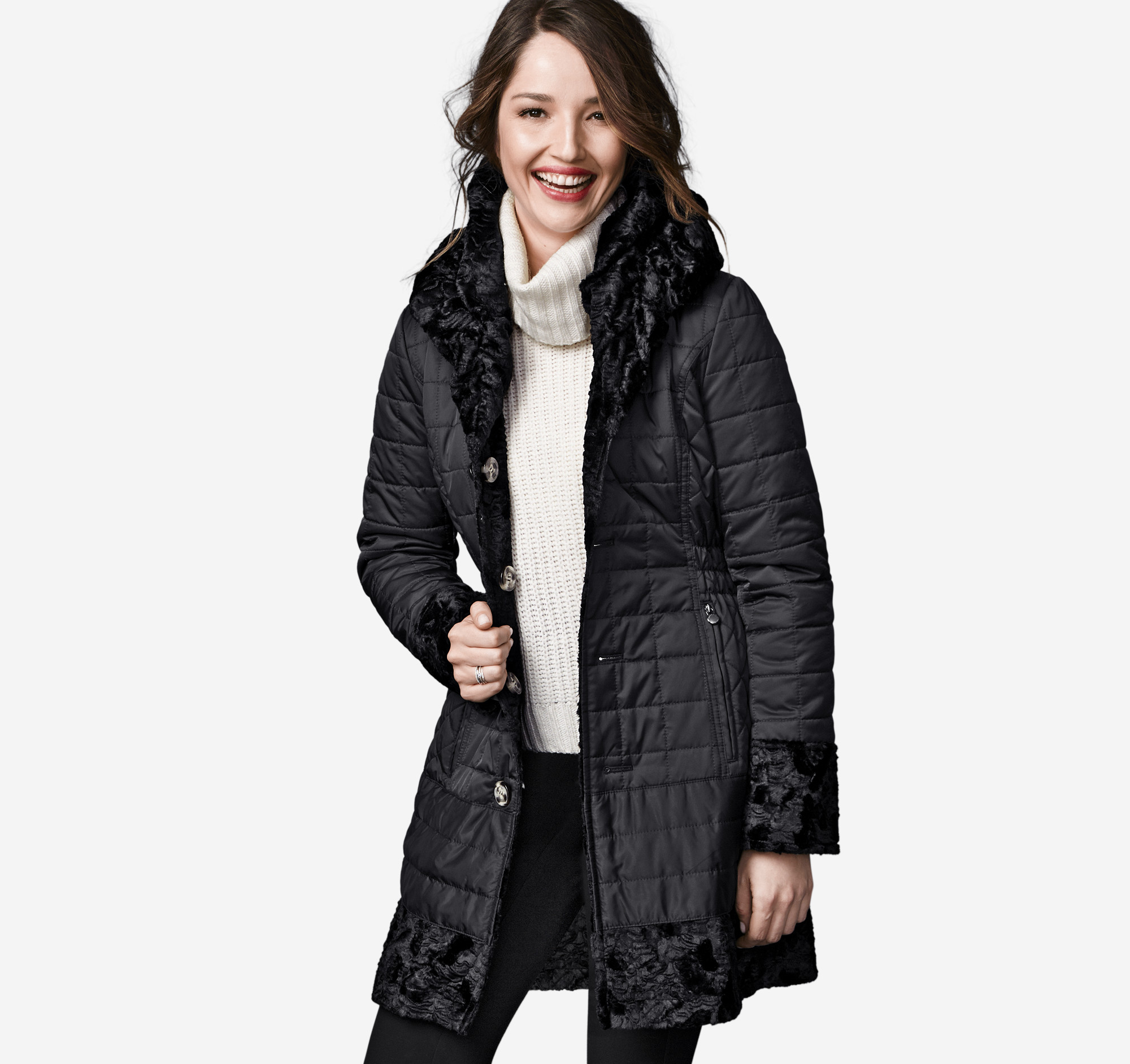 Free shipping BOTH ways on quilted coat, from our vast selection of styles. Fast delivery, and 24/7/ real-person service with a smile. Click or call